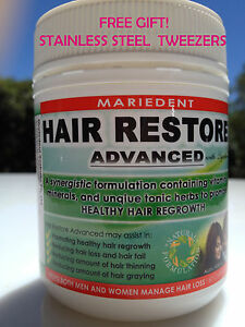 Mariedent Hair Restore Advanced Herbal Hair Loss Support Stimulate Growth Pills