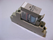 Omron 0736W2 Relay SPDT 120VAC & 24VDC COIL With 10Y7C DIN Base - USED Qty 1
