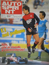 Autosprint 47 1982 Speciale Mauro Baldi. Auto storiche: l'Alfa di Nuvolari sc.5