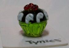 PURE CHOCOLATE CUPCAKE TYNIES Tiny Glass Figure Figurine Collectibles 0154 NEW