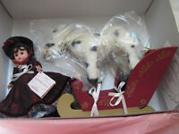 "Madame Alexander 8"" - ""Sleigh Riding Wendy"" #35650 Orig. Box w/ Tag"