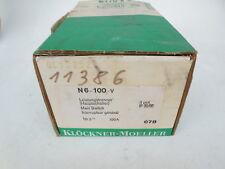 Klöckner - Moeller   Leistungstrenner Schalter N6-100