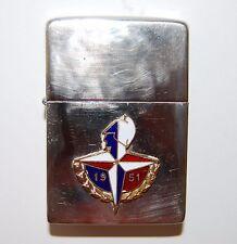 HURRICANE-ENGLAND, Petrol Lighter-Anniversary Edition-Vintage & Rare-Festival