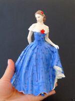 Vintage Antique Royal Worcester Porcelain Collection Figure Statue Lady Isabelle