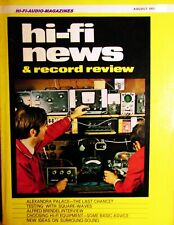 Hi-Fi news JE SUGDEN A21/II AMPLIFICATORE CLASSE A Radford MLS.3 Toshiba SP-790H