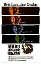 "Whatever Happened To Baby Jane poster - 11"" x 17"" - Bette Davis, Joan Crawford"