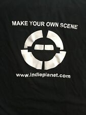 Indie Planet long sleeve t-shirt X-large - Make Your Own Scene
