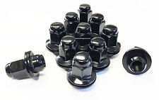 24 TOYOTA LEXUS 14x1.5 1.5 OEM OE STOCK FACTORY WHEELS RIMS MAG LUG NUTS BLACK
