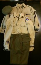 WW2 US Army Air Force Corporal Uniform Shirt Pants Jacket Crusher Armament Skill