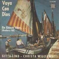 "Gitta Lind Christa Williams Vaya Con Dios 7"" Single Vinyl Schallplatte 44420"
