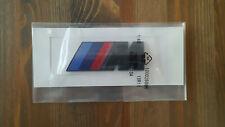 BMW MPower Black Emblem Badge Sticker 1 2 3 4 5 6 x3 x5  UK Stock