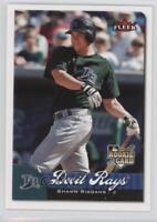 2007 Fleer #367 Shawn Riggans Tampa Bay Rays Baseball Card