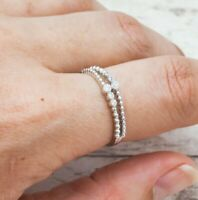 Indie And Harper Silver Serpens Ring Size 9