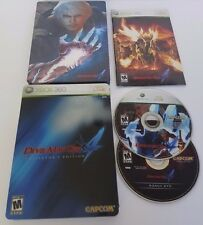 Devil May Cry 4 - Collector's Edition COMPLETE CIB (Microsoft Xbox 360, 2008)