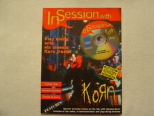 In Session with Korn guitar tab play-along series w/Cd
