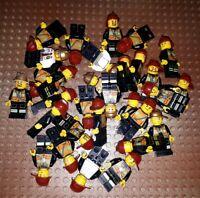 10 Lego City Feuerwehr Figuren Minifig Station Feuerwehrmann Firefighter