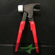 FORGED WHEEL WEIGHT HAMMER / PLIERS COMBO FOR TIRE BALANCER / CHANGER USA GRADE