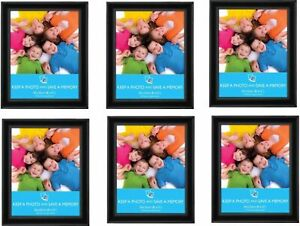 """[Set of 12] 8"""" x 10"""" (20x25cm) Black Picture Photo Frames Wall Mountable"""