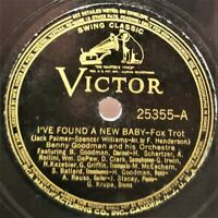 Benny Goodman: I've Found A New Baby / Swingtime In The Rockies: Victor (Jazz)