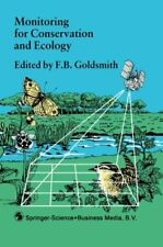 Monitoring for Conservation and Ecology (Conserv... by Goldsmith, F.B. Paperback