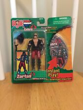 GI Joe Vs Cobra Zartan Action Figure Spy Troops