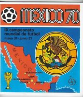 "Panini ""Mexico 70"" unused album + complete set of cards: best-ever reproductions"