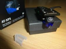 More details for audio technica  at-xp3 cartridge & stylus + technics headshell  for dj turntable