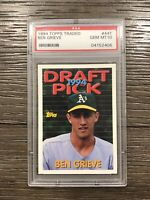 1994 Topps Traded Ben Grieve PSA 10 Rookie #44T RC
