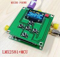 10MHz-15GHz Portable Smart Singnal générateur de fréquence RF source Sweep LMX2594