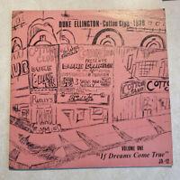 """Duke Ellington- Cotton Club 1938 (volume 1 """"if Dreams Come True"""" Vinyl LP)"""