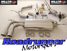 MILLTEK GOLF GTI MK5 EDIZIONE 30 Turbo Back Sistema di scarico non RES & DECAT GT80