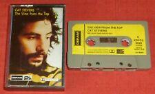CAT STEVENS - RARE DERAM CASSETTE TAPE - VIEW FROM THE TOP - PAPER LABELS