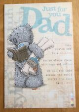 """'Dad, You're One In A Million' Me To You Father's Day Card - Tatty Bear - 9""""x6"""""""