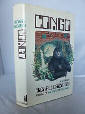 Congo by Michael Crichton HB DJ 1981