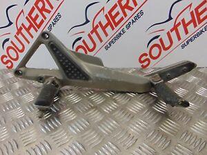 HONDA HORNET CB 600 F 2003 LEFT RIDER AND PILLION FOOTREST
