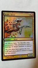 1x FOIL ACIDIC SLIVER - Rare - PREMIUM DECK - MTG - NM - Magic the Gathering