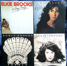 4 ELKIE BROOKS CDs  Two Days Away, Live & Learn, Pearls 1 & 2 (Pearl's A Singer)