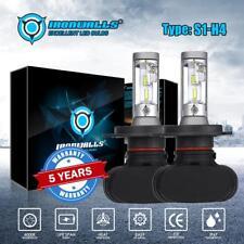 IRONWALLS Pair H4 CSP LED Headlight Car 9003 HB2 2100W 6500K Replace Hi/Lo Beam