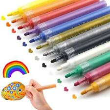 Acrylic Paint Pens for Rocks Painting, Ceramic, Glass, Wood, Fabric, Canvas,...