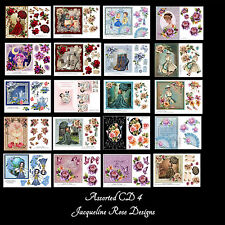 Decoupage Cardmaking CD 4 Assorted