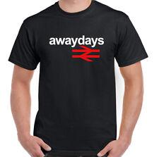 Away Días Camiseta Británico Vía Hombre Retro Fútbol Hooligan Hecho Para de Pie
