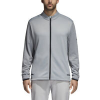 Adidas Golf Men's Climaheat Full Zip Jacket - BC6774 Mid Grey - Pick Size