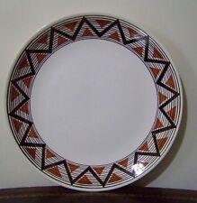 "Royal China USA 11"" Round Platter Chop Plate Navajo Vendome Ironstone Vintage"