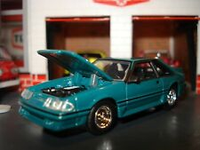 1987 87 Ford Mustang Gt 50 Fox Body Limited Edition Coupe M2 164 Twin Turbo