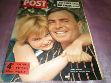 PICTURE POST MAGAZINE 4th AUGUST 1956 Cover James Mason brings his Daughter Home