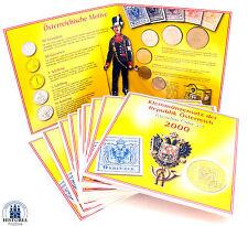 10 x KMS Österreich 36,60 Schilling 2000 Handgehoben 150 Jahre Briefmarke