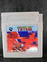 Tetris -Original Cartridge- Nintendo Game Boy - 1989 - DMG-TRA - Japan Import