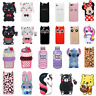 For Xiaomi Redmi 3D Case Cover HOT Cute Cartoon Animals Soft Silicone Back Skin