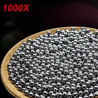 1000 Stück Stahlkugel 8 mm Schleuder Katapult Schleudermunition Kugel NEU