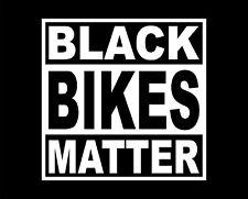 Black Bikes Matter Funny T-Shirt